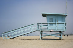 Life guard. House on venice beach los angeles Royalty Free Stock Photos