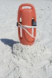 Life guard beach rescue. Aid in the sand Royalty Free Stock Photography