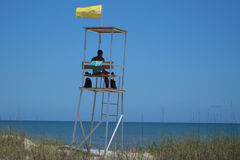 Life guard on duty Royalty Free Stock Image