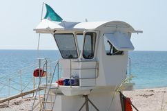 Life Guard On Duty Royalty Free Stock Photo
