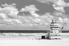 Life guard house or beach patrol tower Royalty Free Stock Photos