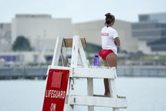 Life guard manager Royalty Free Stock Photos
