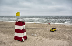 Life  guard saving station Royalty Free Stock Photo