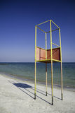 Life guard stand Royalty Free Stock Photo
