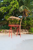 Life Guard Stand stock images