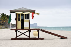 Life Guard Stand Florida Royalty Free Stock Photography