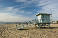 Life Guard Station Royalty Free Stock Photos