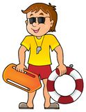 Life guard theme image 1 Royalty Free Stock Photo