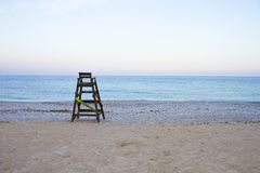 Life guard tower Royalty Free Stock Images