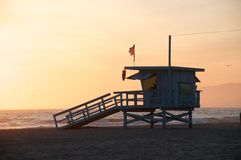 Free Life Guard Tower Stock Image - 18943271