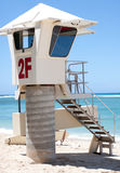 Life guard tower Royalty Free Stock Photography