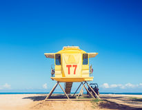 Life guard tower Stock Photography
