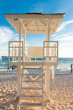 Life guard tower Royalty Free Stock Photos