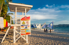 Life guard tower Royalty Free Stock Photo