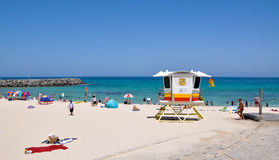 Life Guard Tower: Cottesloe, Western Australia royalty free stock photography