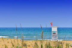 Life Guard Watch Tower Royalty Free Stock Photos