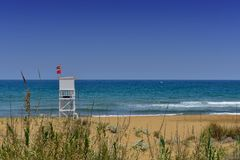Life Guard Watch Tower Stock Photos