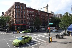 DAILY LIFE IN HARLEM NEW YORK. HARLEM/NEW YORK CITY /NEW YORK / USA 08.JUNE 2018_ .Daily in Harlem New York City . Photo.Francis Joseph Dean / Deanpictures stock photos