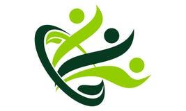 Life Healing Center. Logo Design Template Vector Royalty Free Stock Images