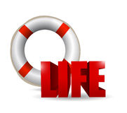 Life illustration design Stock Photos