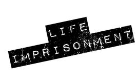 Life Imprisonment rubber stamp Stock Image