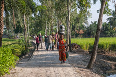 Life in the Indian village Royalty Free Stock Photography