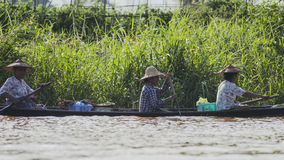 Life on  Inle lake Stock Images