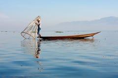 Life at Inle lake, Myanmar. Stock Image