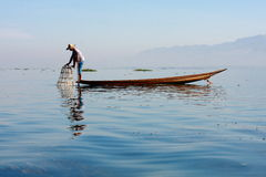 Life at Inle lake, Myanmar. Stock Photo