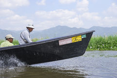 Life on  Inle lake Royalty Free Stock Photography