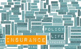 Life Insurance. Policy and Choose or Buy One Royalty Free Stock Photo