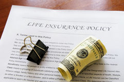 Life insurance Royalty Free Stock Photos