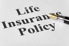 Life Insurance Royalty Free Stock Photo