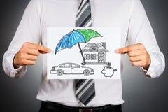 Life insurance concept. Stock Photos