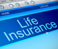 Life insurance concept. Royalty Free Stock Photos