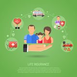 Life Insurance Concept Royalty Free Stock Photo