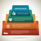 Life-insurance-health-home-page-brochure-background Stock Images