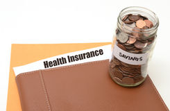 Life insurance savings concept Stock Photography