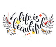 Life Is Beautiful Royalty Free Stock Image