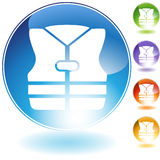 Life Jacket Crystal Icon Royalty Free Stock Images