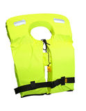 Life jacket. Isolated included clipping path royalty free stock photo