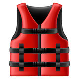 Life jacket royalty free illustration