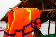 Life jacket save your life Royalty Free Stock Image