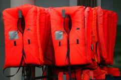 Life jackets Royalty Free Stock Photography