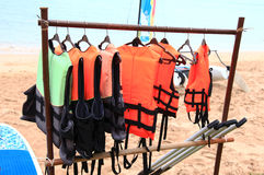 Life jackets Royalty Free Stock Image