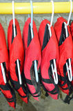 Life jackets Royalty Free Stock Photography