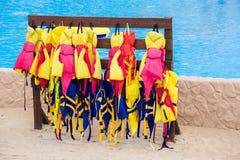 The life jackets. Royalty Free Stock Photos