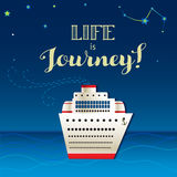 Life is journey Royalty Free Stock Images