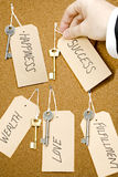 Life keys Stock Photo