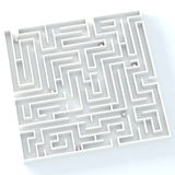 Life is labyrinth Royalty Free Stock Image